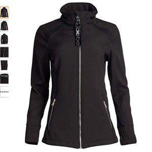 BEBE SPORT Polar Fleece Lined Soft Shell Jacket